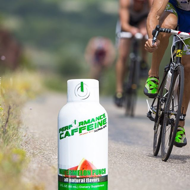 Riding into the weekend with #performancecaffeine 🚴🏼‍♂️
