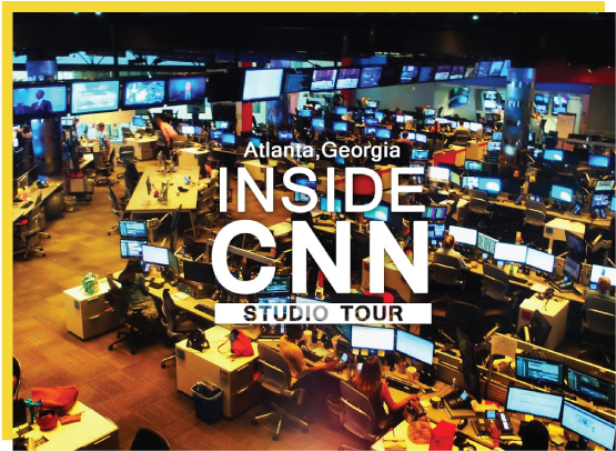 CNN Studio Tours - Come take a tour of what Ted Turner started – the world's first 24-hour news network. Explore all that CNN Studio Tours has to offer and plan your visit to the world headquarters of CNN in Atlanta, GA.