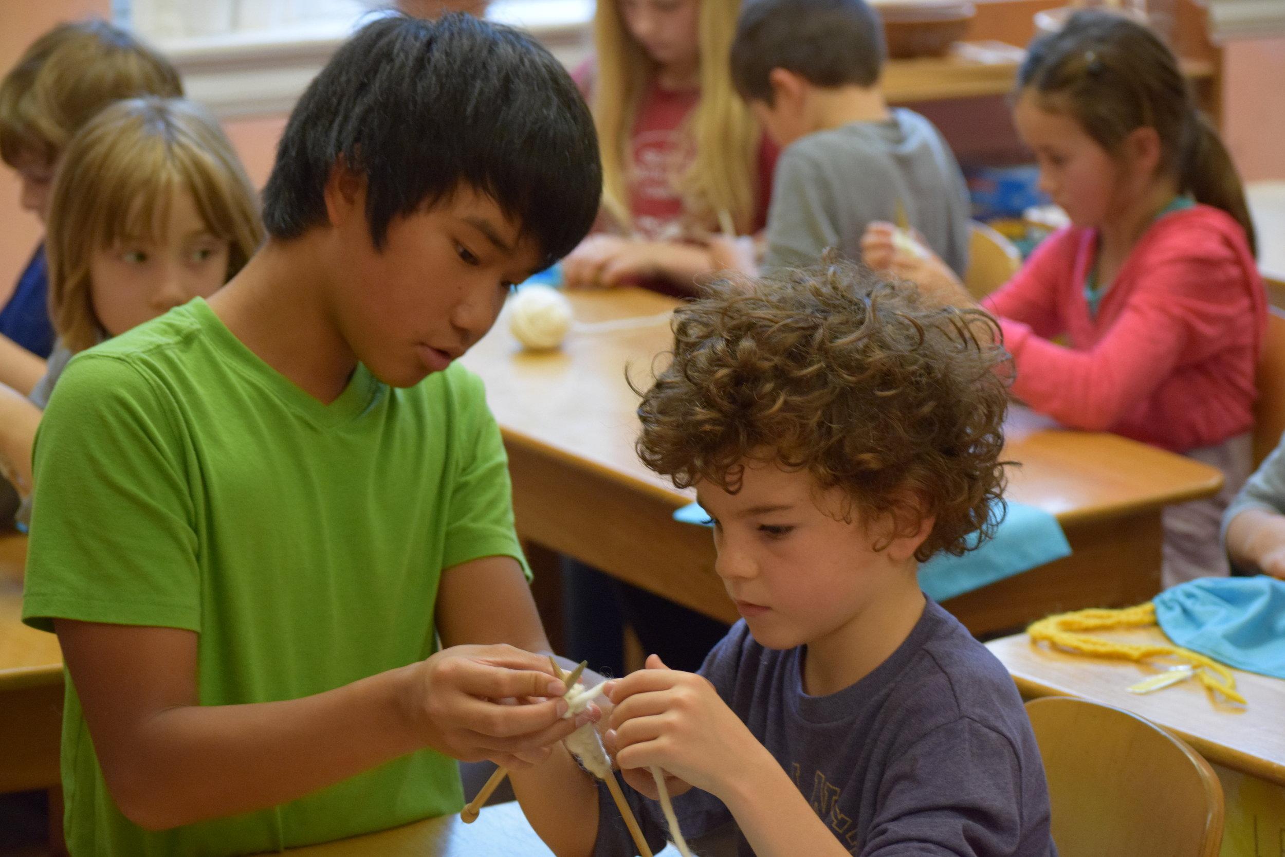 First Grade & Sixth Grade Handwork (1).JPG