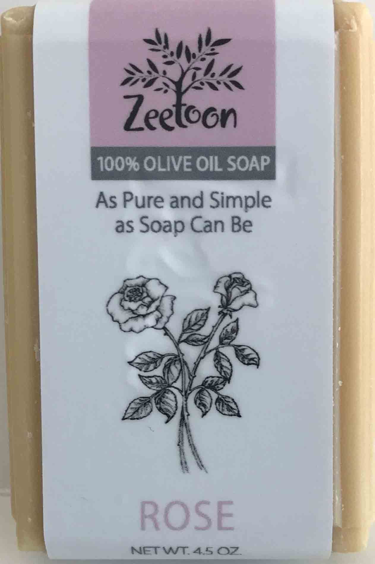 Choose from ten different varieties of Zeetoon 100% olive oil soap