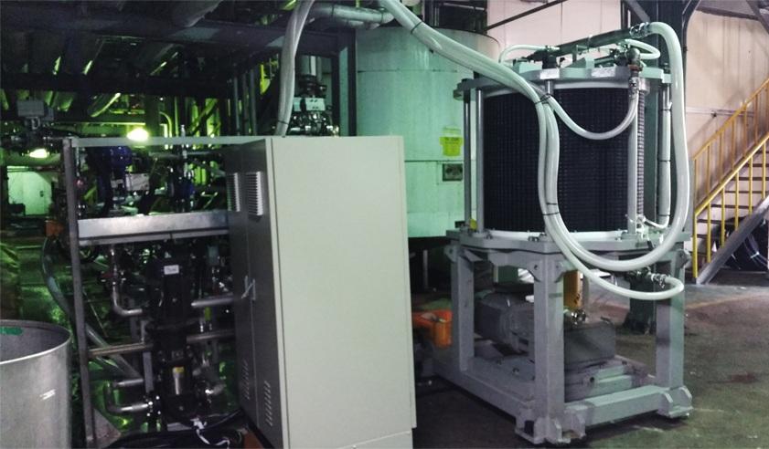 군산 바이오 공장에 설치되어 가동 중인 FMX-E