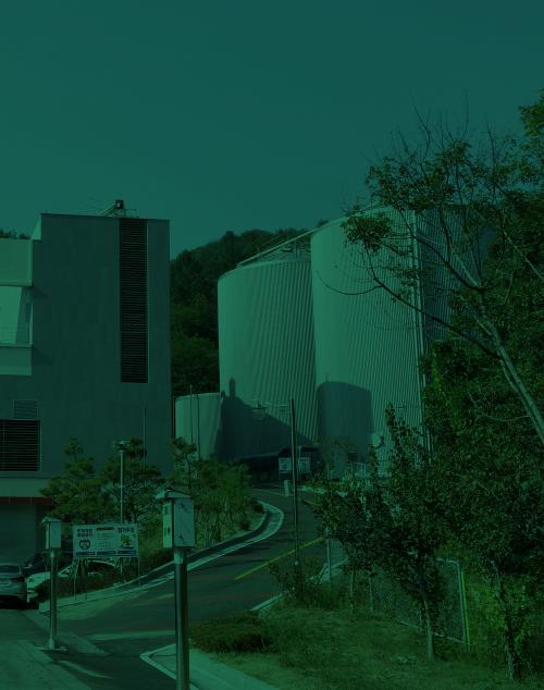 바이오가스를 활용한 전기생산 - 가정 및 농가 공급