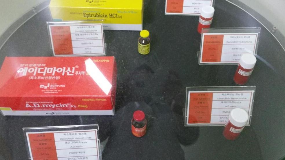 보령제약 근무시 연구 개발 제품