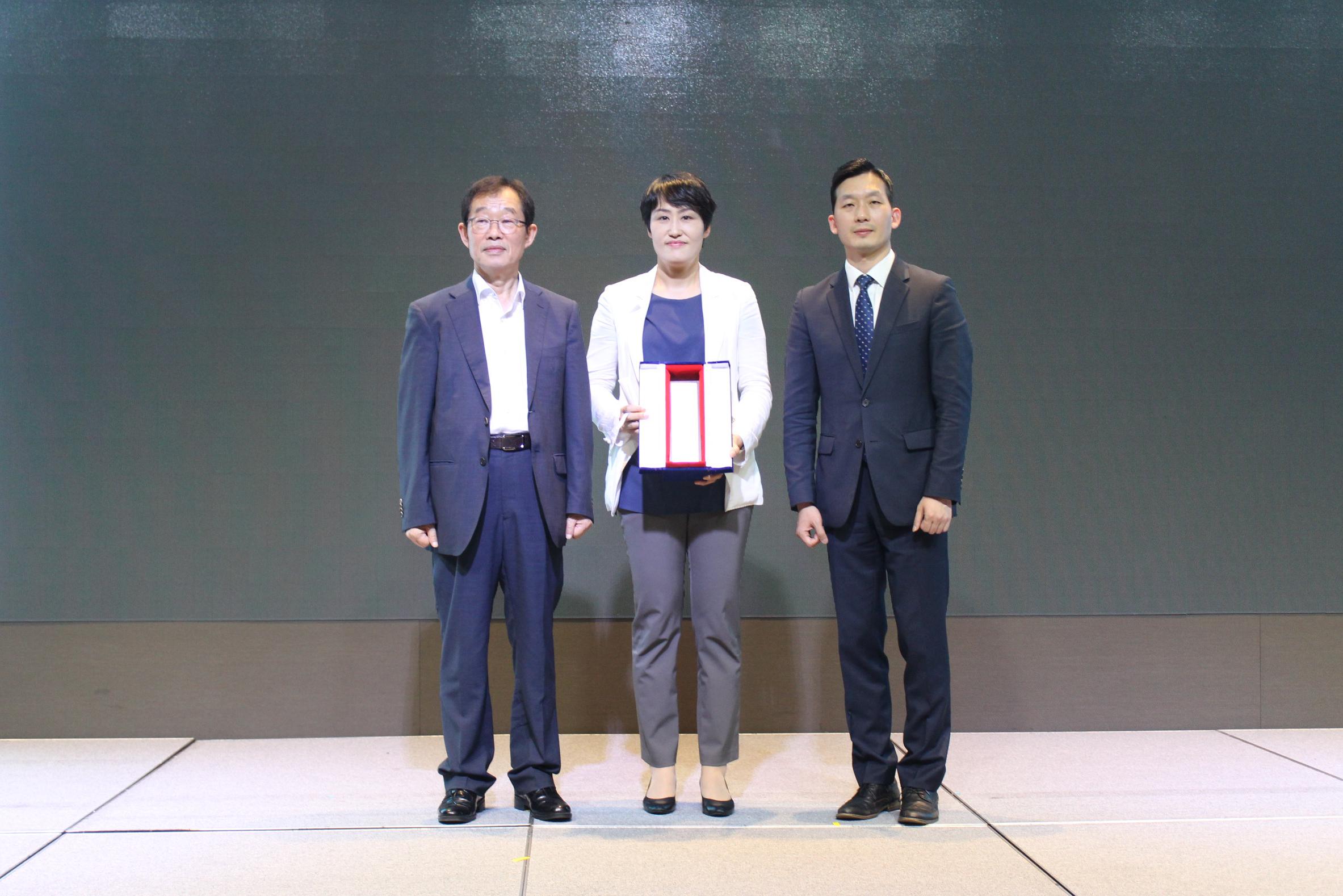 2018 UN SDGs 기업이행상 수상