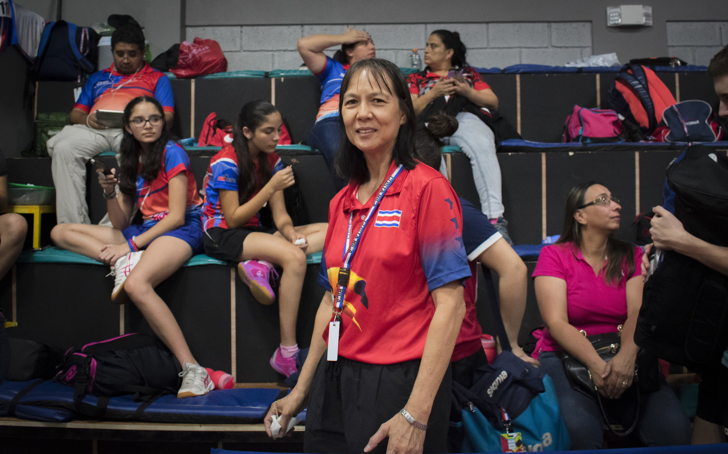 8.Sonia (Muty) Hernández Lo works at her clothing store by day, but pursues her passion of coaching ping pong by night. Ping pong has a long history associated with the Chinese community.JPG