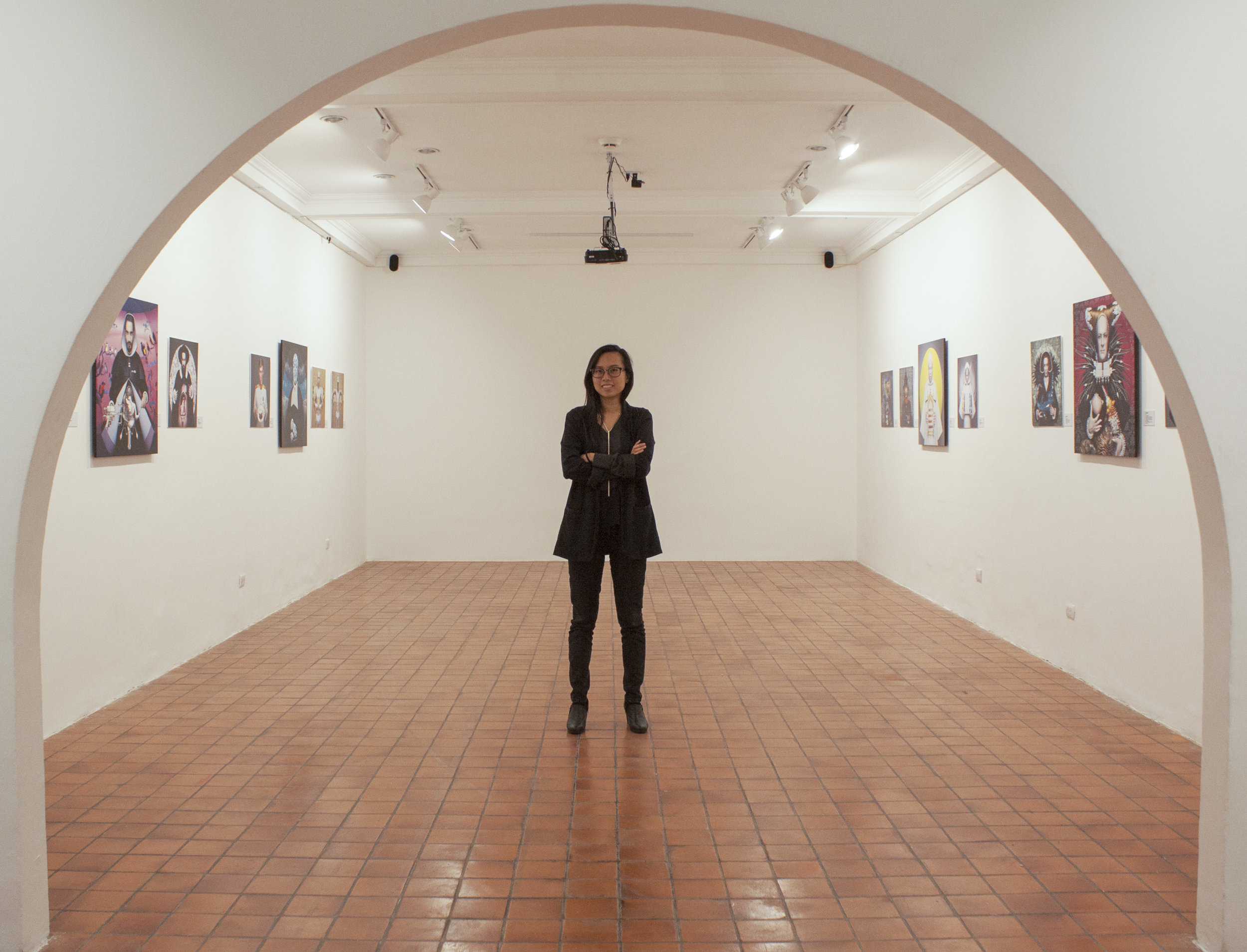 15. Iris Lam Chen, cultural and arts manager at work at the Casa de la Cultura de España in San José, Costa Rica. While she works in the capital, Puntarenas is where she feels most at home.JPG