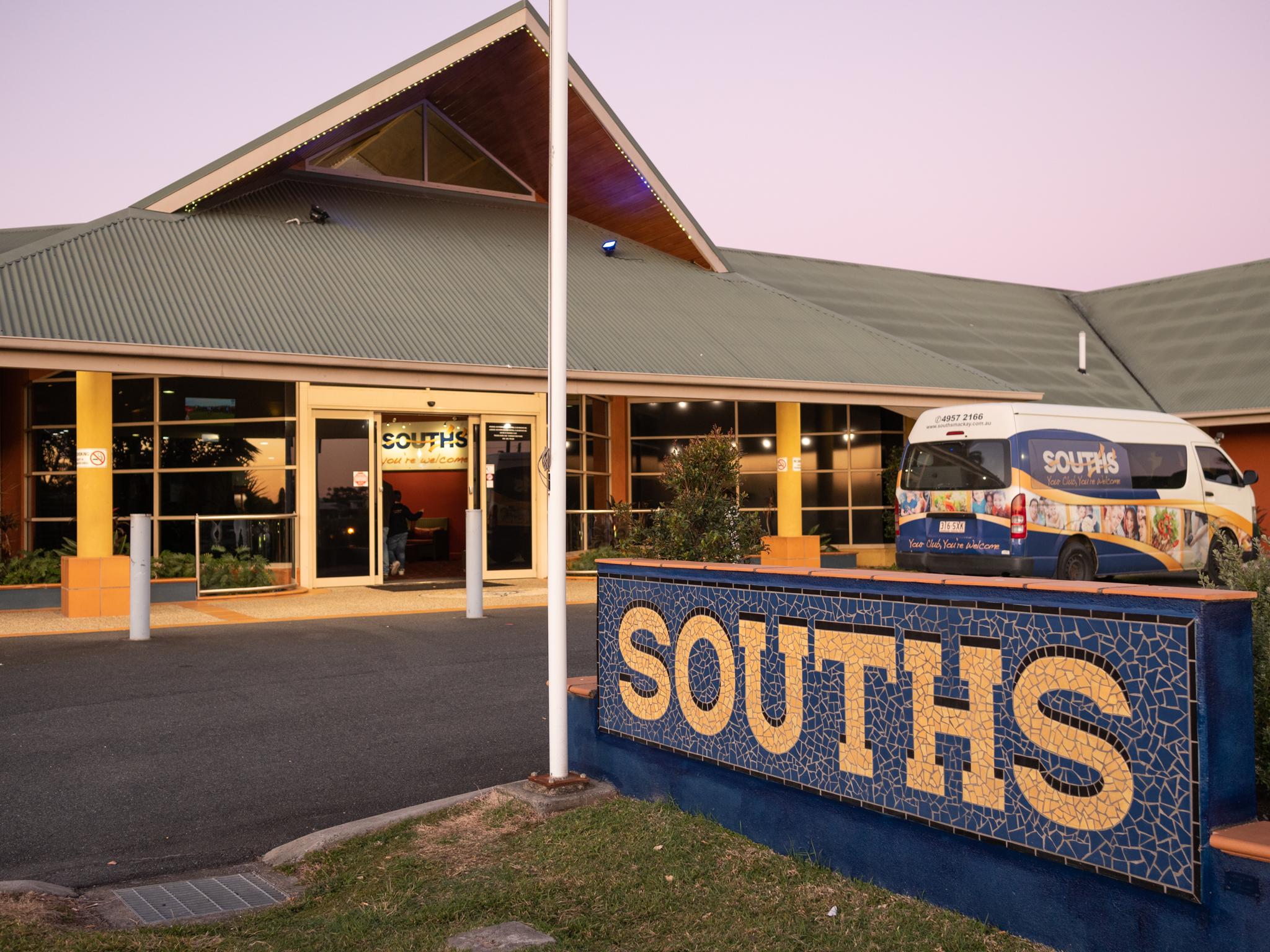 souths leagues club -