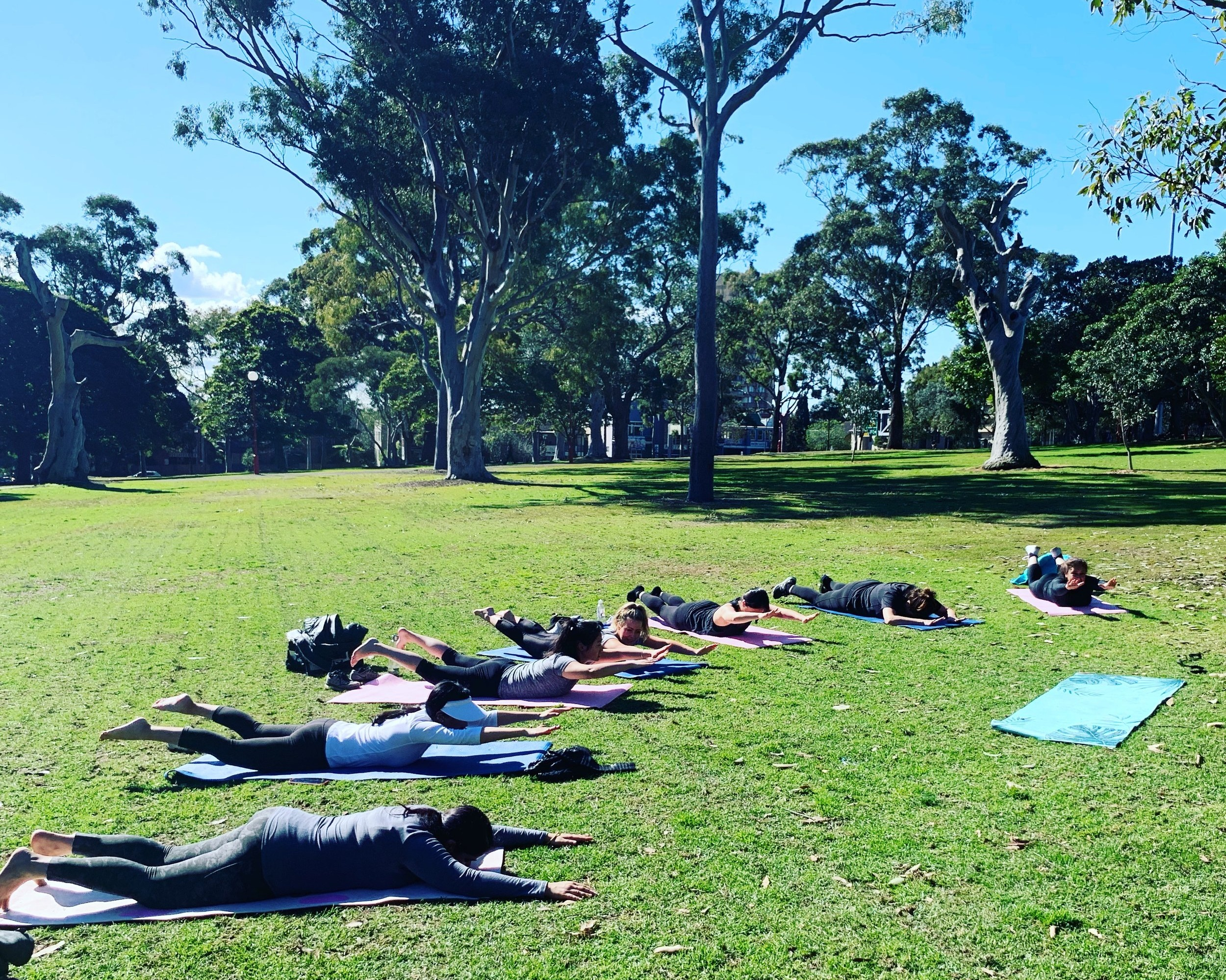~ Lunch time Mindful Fitness session in North Sydney for the lovely ipSCAPE ladies ~