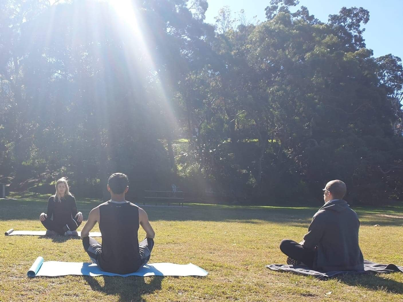 ~ Meditation Session in the Park ~