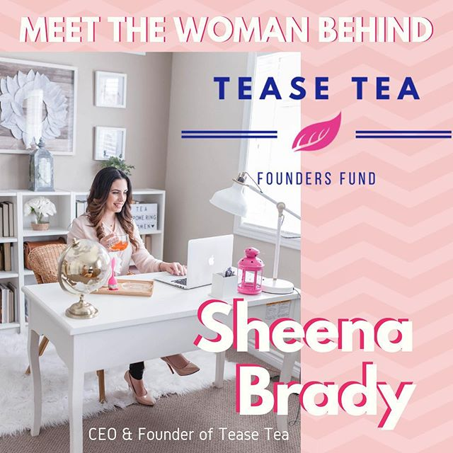 "✨With passion & ambition to pay it forward, CEO & Founder of @tease_tea Sheena Brady started the Tease Tea Founders Fund. . ""From the beginning, giving back and championing women was a fundamental part of the Tease Tea brand. We infuse everything we do with passion & purpose to support women."" . ⚡️SEE LINK IN BIO FOR HER FULL STORY⚡️ . Applications open this Tuesday🌈"