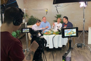 Filming for My Asian Banquet, Ch 7, August 2019
