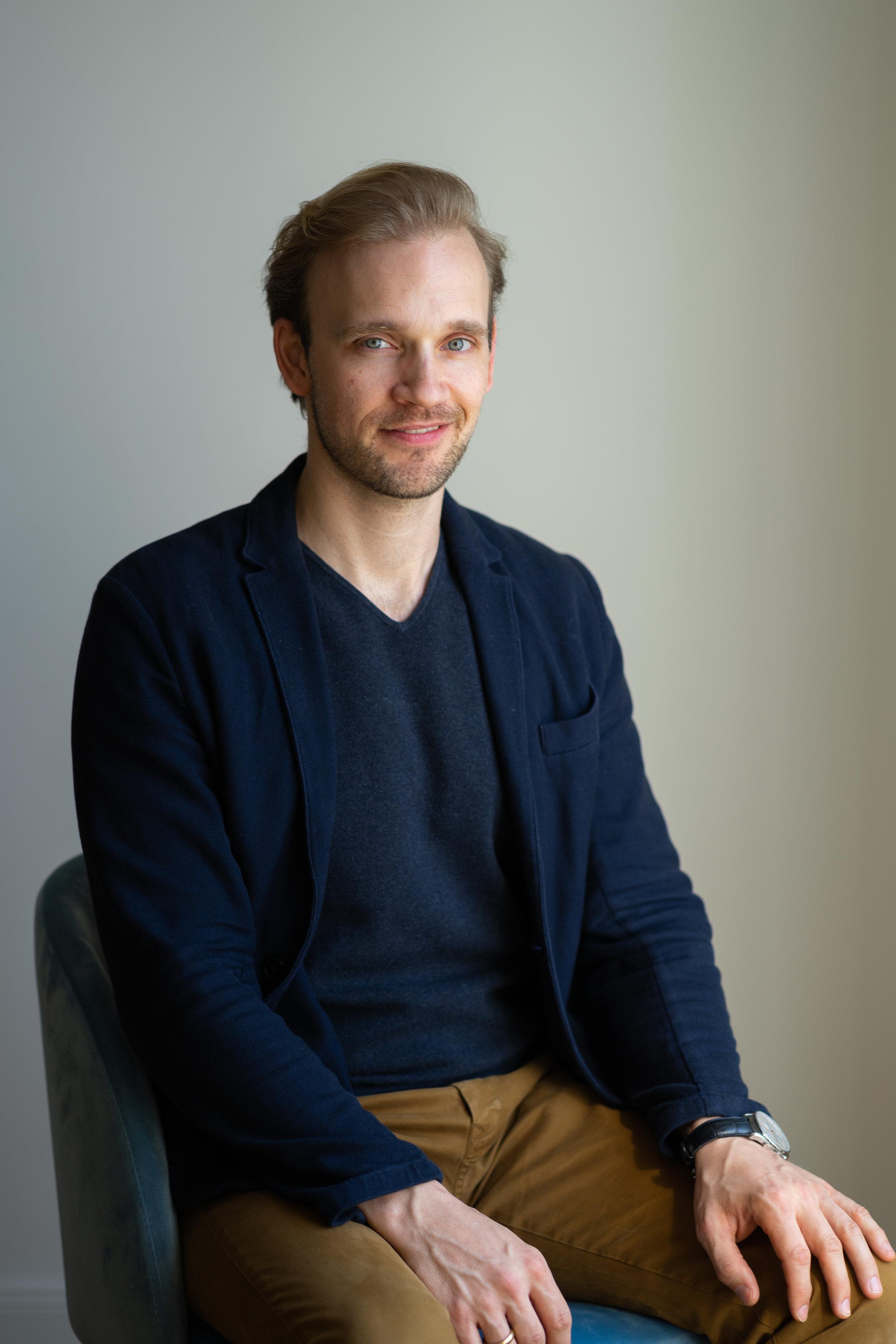 Moritz Gerlach, CEO -