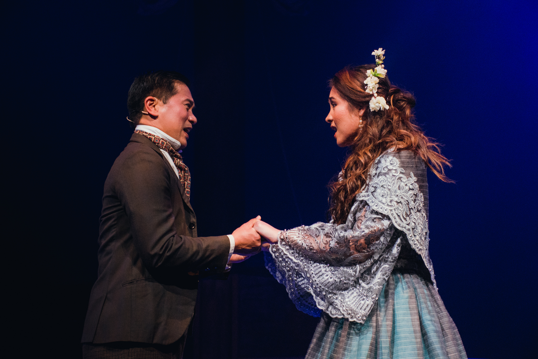 Noli me Tangere - This is a new musical with a wonderfully diverse and committed cast and a standing ovation from the supportive Opening Night audience. See the review I did for Arts Hub here.Photo of Susana Downes as Maria Clara and Miguel Castro as Ibarra by Shakira Wilson.