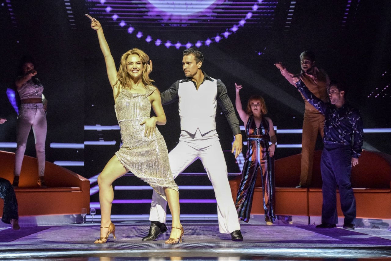 Saturday Night Fever - The dancing is the star of this open staged, mirror ball blitzed and finely calibrated production. See the write-up I did for Art Hub here.RbJ Rating: 5 Boogie ShoesPhoto by Heidi Victoria