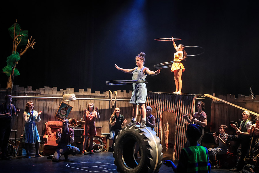 Junk: From the Flying Fruit Fly Circus. - Australia's leading national youth circus, the Flying Fruit Fly Circus is bringing 'Junk' to Riverside Theatres. We had the chance to speak with Artistic Director, Jodie Farrugia.