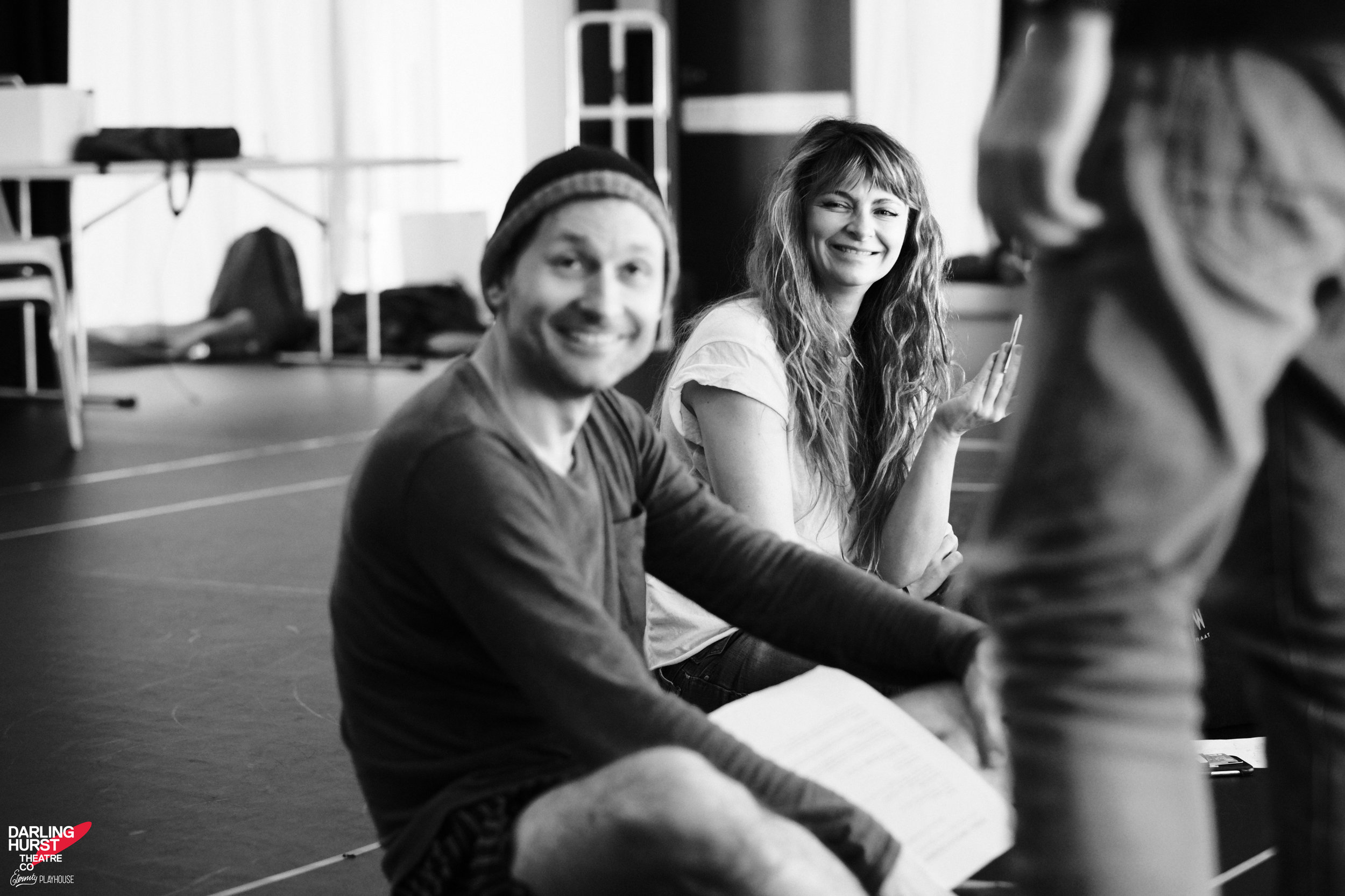 Small Mouth Sounds - As we continue our series of sit-downs with the cast of the next show at Darlinghurst Theatre Co, Amber McMahon shares some of her irrepressible energy.Rehearsal photos of the Darlinghurst Theatre Company production by Robert Catto.