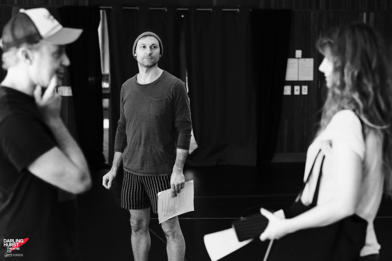Small Mouth Sounds - Sitting down with Yalin Ozucelik was a such a treat after seeing his wonderful work over many years.Rehearsal photos of the Darlinghurst Theatre Company production by Robert Catto.