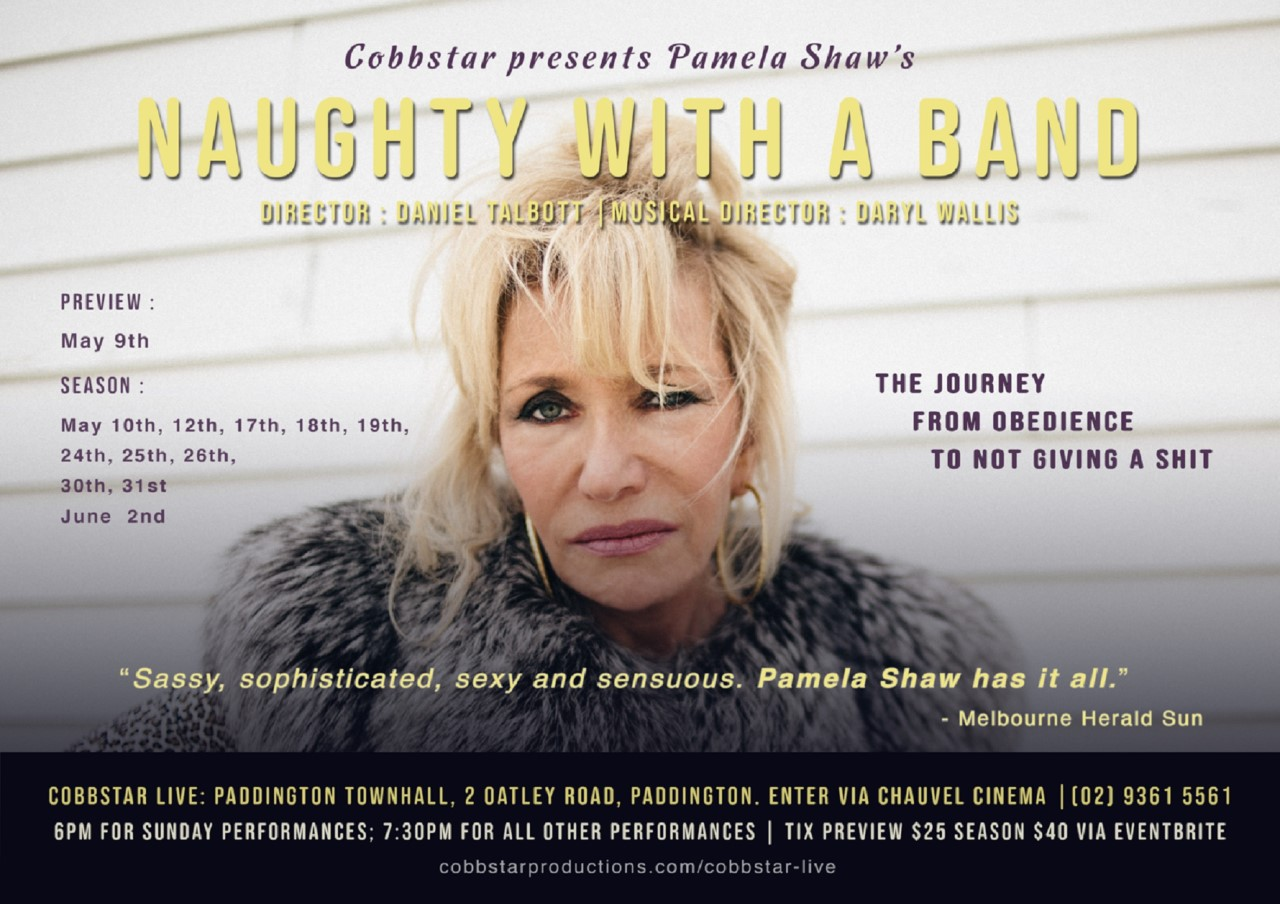 Naughty with a Band - Coffee in the Cross with Pamela Shaw.