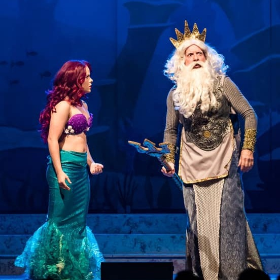 The Little Mermaid - Watching the kids is as enjoyable as watching it yourself.Image Credit: Grant Lesley from Perfect Images Photography