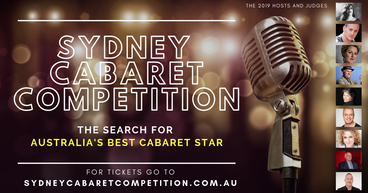Sydney Cabaret Competition - What's it all about?