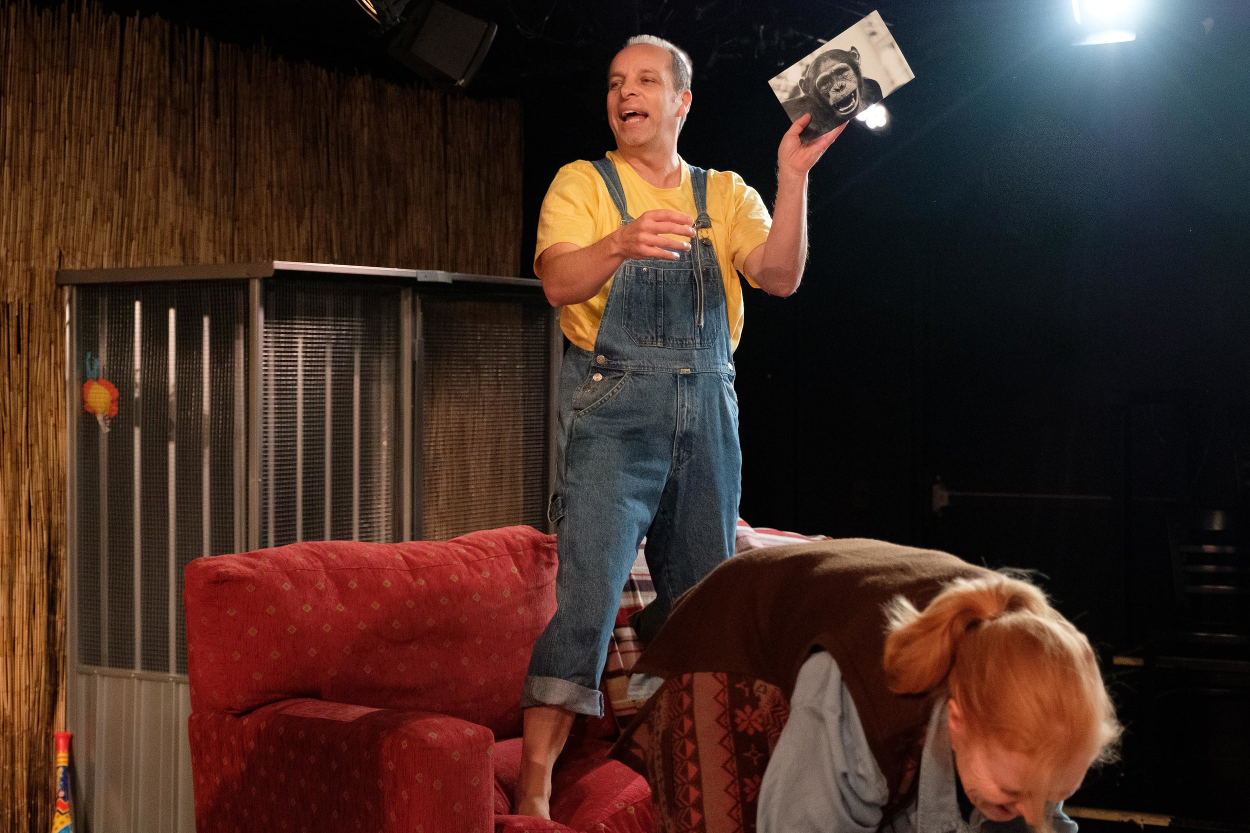 Trevor - Only good can come from seeing this show.Production images: Clare Hawley