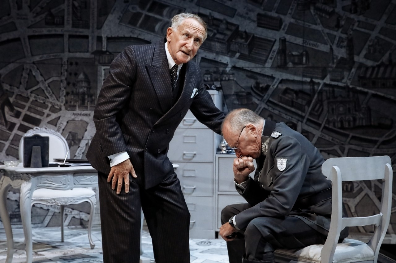Diplomacy - Themes to trouble easy travel.Production images: Prudence Upton