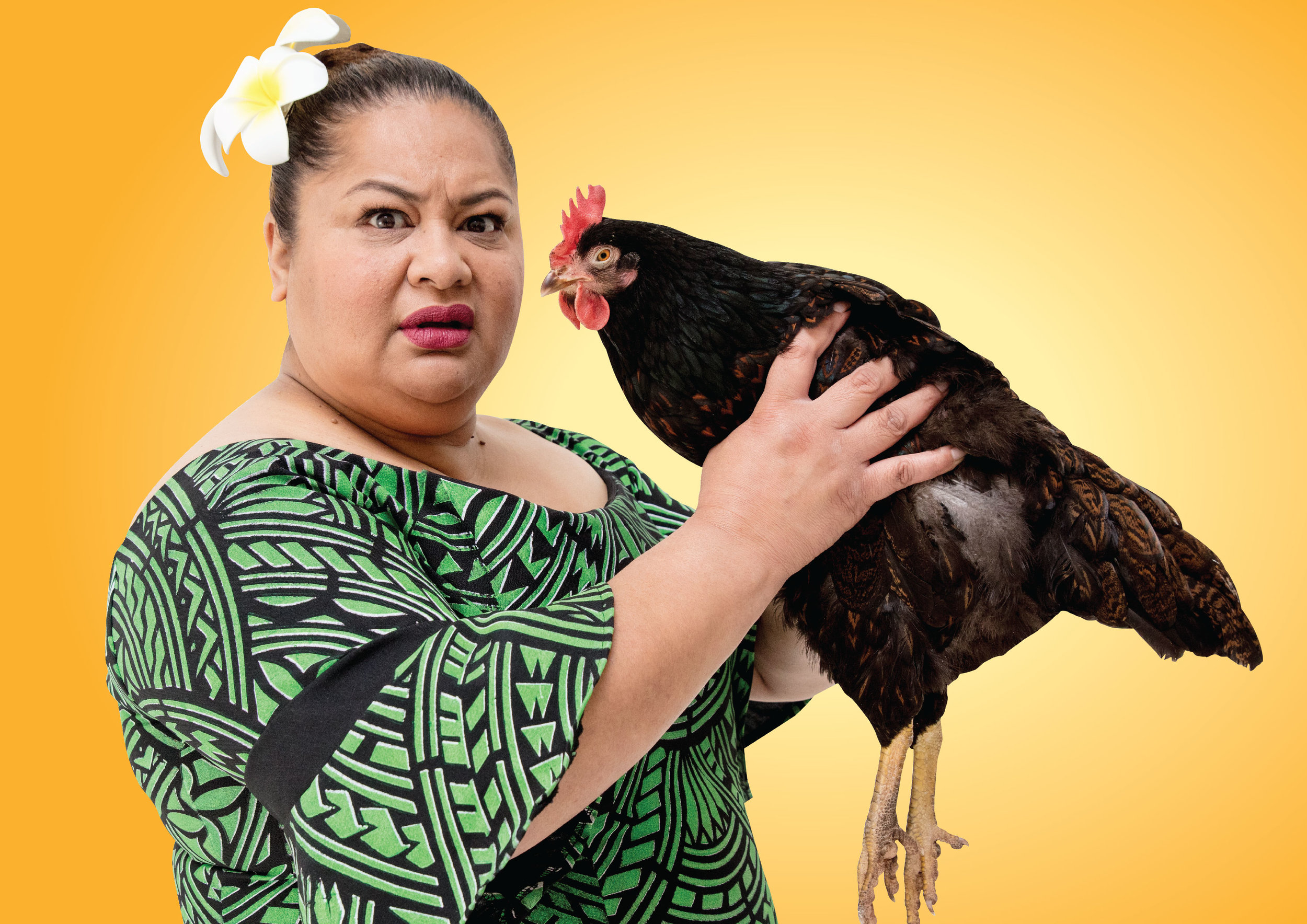 Still Life With Chickens - An interview with Goretti Chadwick who plays Mama.