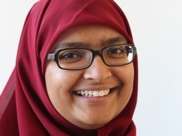 Tasnim Hossain - Director of two play readings at the Unfold Festival.