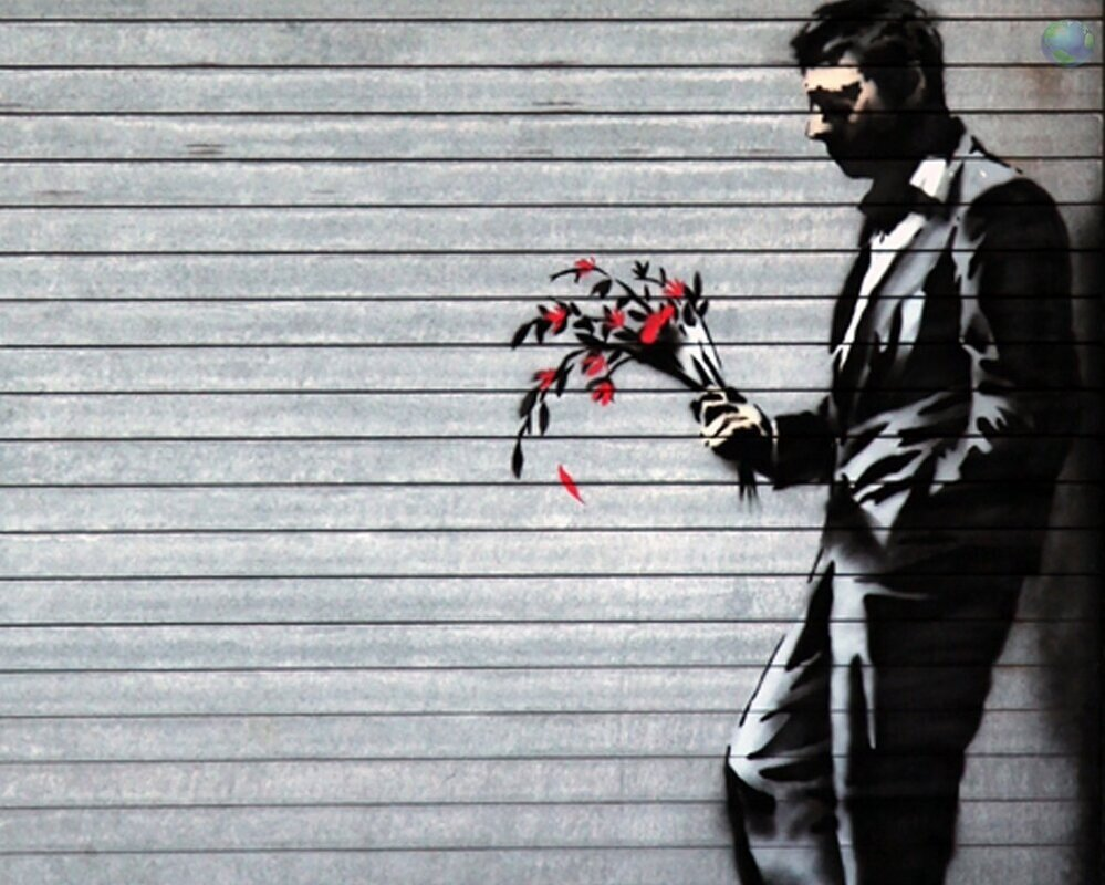The Art of Banksy - Rebecca Lawrence took Judith along to the exhibition.