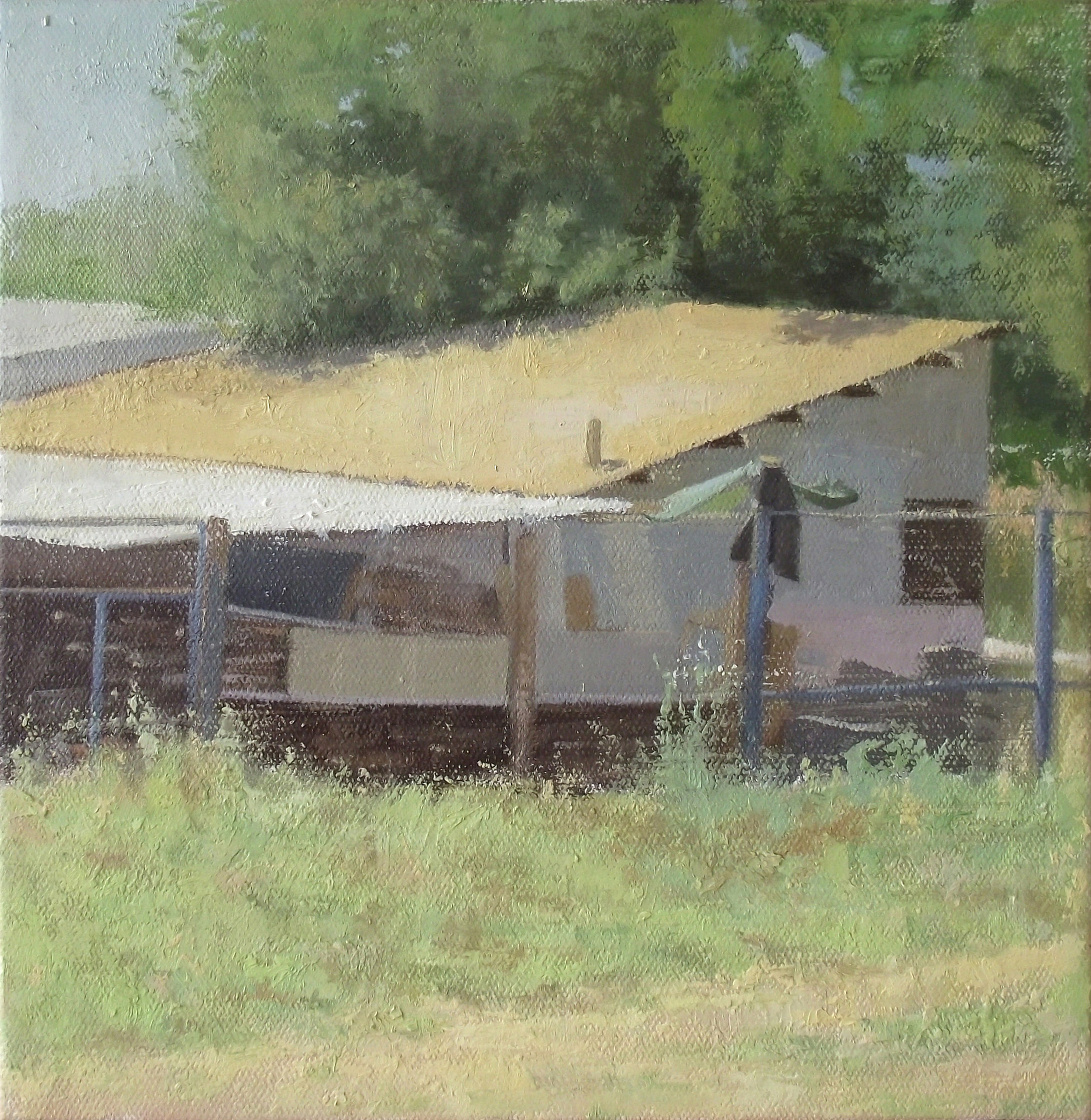 Oil on Canvas, 30X30 cm, 2014