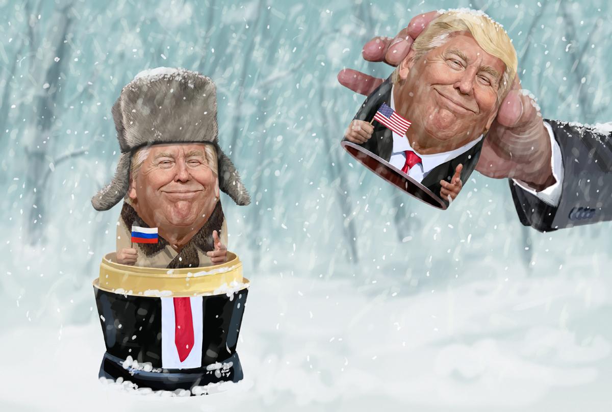 """Russian"" Donald Trump"