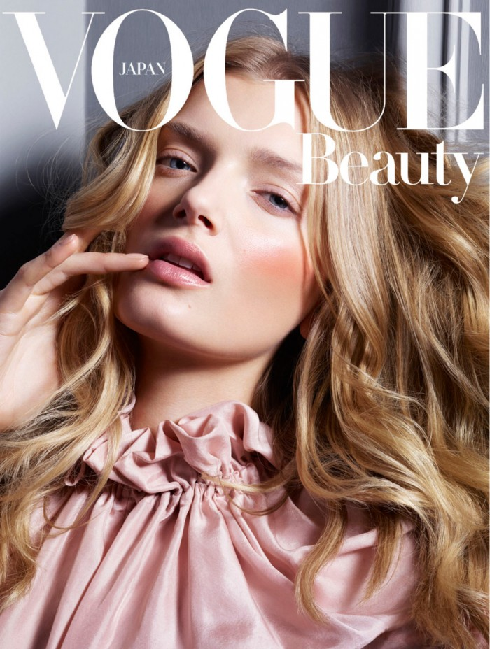 Jem Mitchell Japanese Vogue - Lily Donaldson by Jem Mitchell Make Up Lloyd Simmonds  - Styling Jamie Surman - August 2011 - 06.jpg
