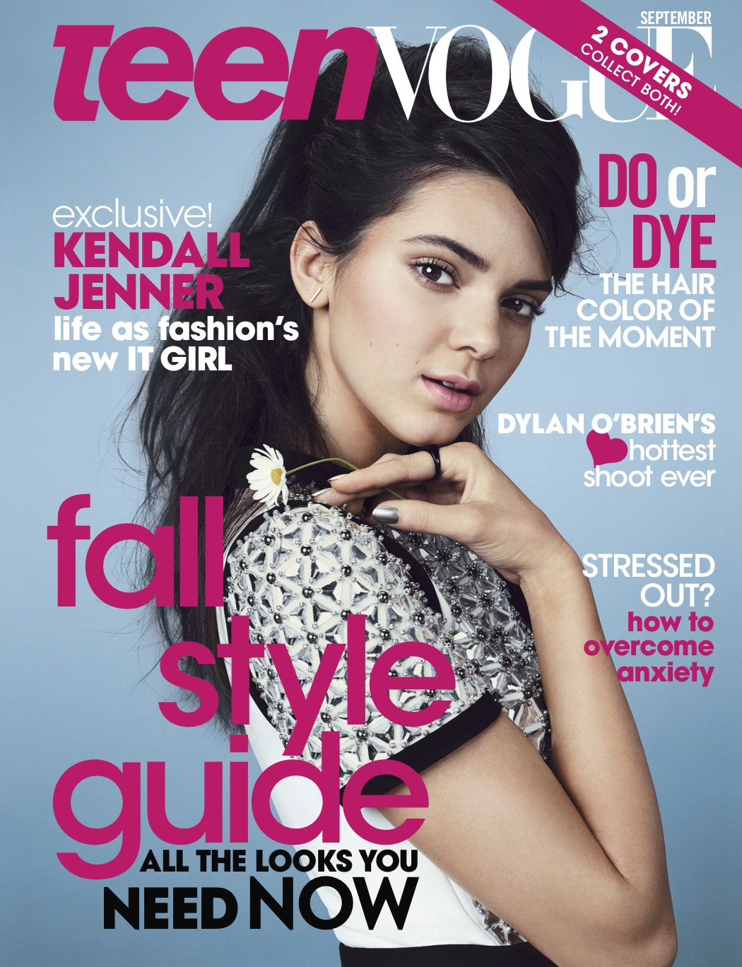 Emma Summerton-Teen Vogue Covers Sept 2014, Kendall Jenner, Sty- Elin Svahn, Make-Up Marla Belt, Nails- Alicia Torello.jpg