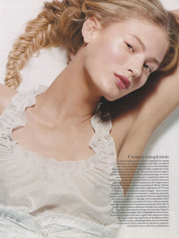 Ph Karen Collins For Vogue UK, Hair Neil Moodie