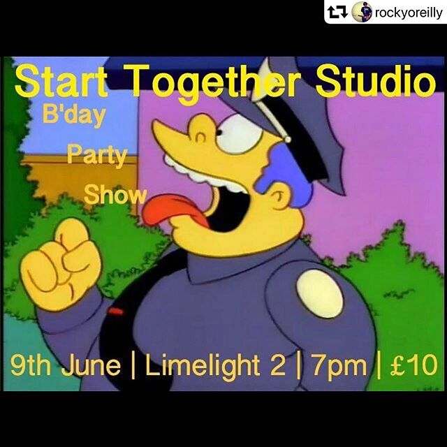 """Happy 12th birthday @starttogetherstudio looking forward to sharing in the celebrations. @_womenswork wraps up tonight, so I might have a few sherries myself.  #belfast #gigs #womensworkni #livemusic #sundaysuds #sundayfunday #supportlocalmusic #repost @rockyoreilly ・・・ If you're in Belfast tonight, come celebrate 12 years of me saying """"one more take."""" I seriously can't believe where I find myself these days. It's nice to look back at where it all started. Now it's time to look forward not backward, upward not forward."""
