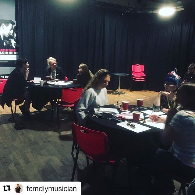 #Repost @femdiymusician (@get_repost) ・・・ This morning's @_womenswork #BreakfastClub is underway.  It's the last workshop today on growing your email list 📧 . It's been such an amazing weekend and I can't wait to do more live events like this. . Thank you If you joined us and join the #FDIYM tribe if you haven't already #linkinbio #helpmusiciansuk