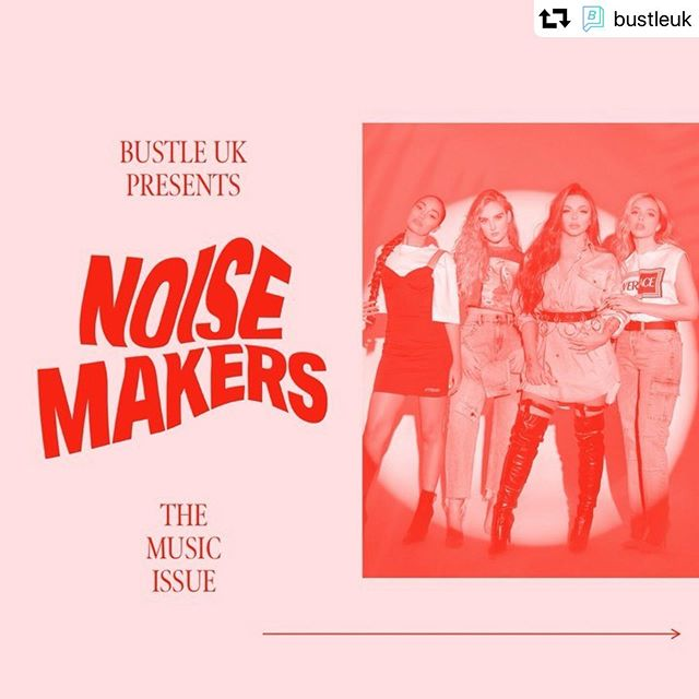 Great to be featured in this special edition on music! #repost @bustleuk ・・・ Music makes the world go around, but it's the people behind the tunes that have the stories… Introducing #BustleNoisemakers, our summer music issue spotlighting the women both on stage and behind the scenes keeping us dancing from dusk 'til dawn 💃