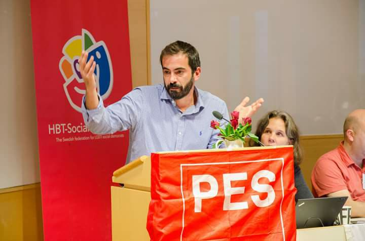 Ομιλία στο Σουηδικό Σοσιαλιστικό Κόμμα