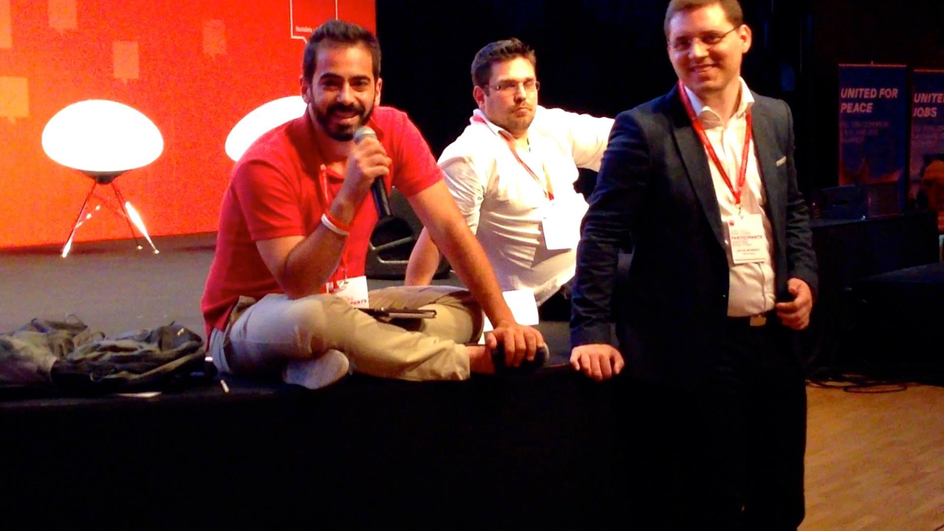 Ομιλία στο συνέδριο του PES στη Βουδαπέστη