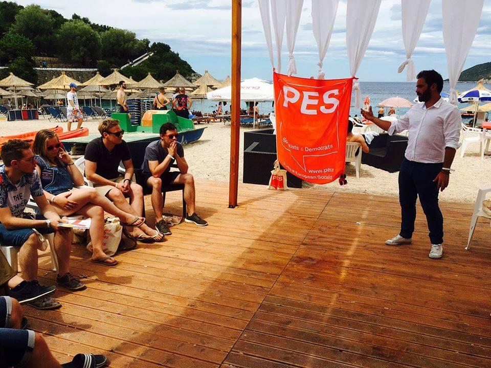 Συνέδριο Νεολαίας Ευρωπαϊκού Σοσιαλιστικόυ Κόμματος Αλβανία