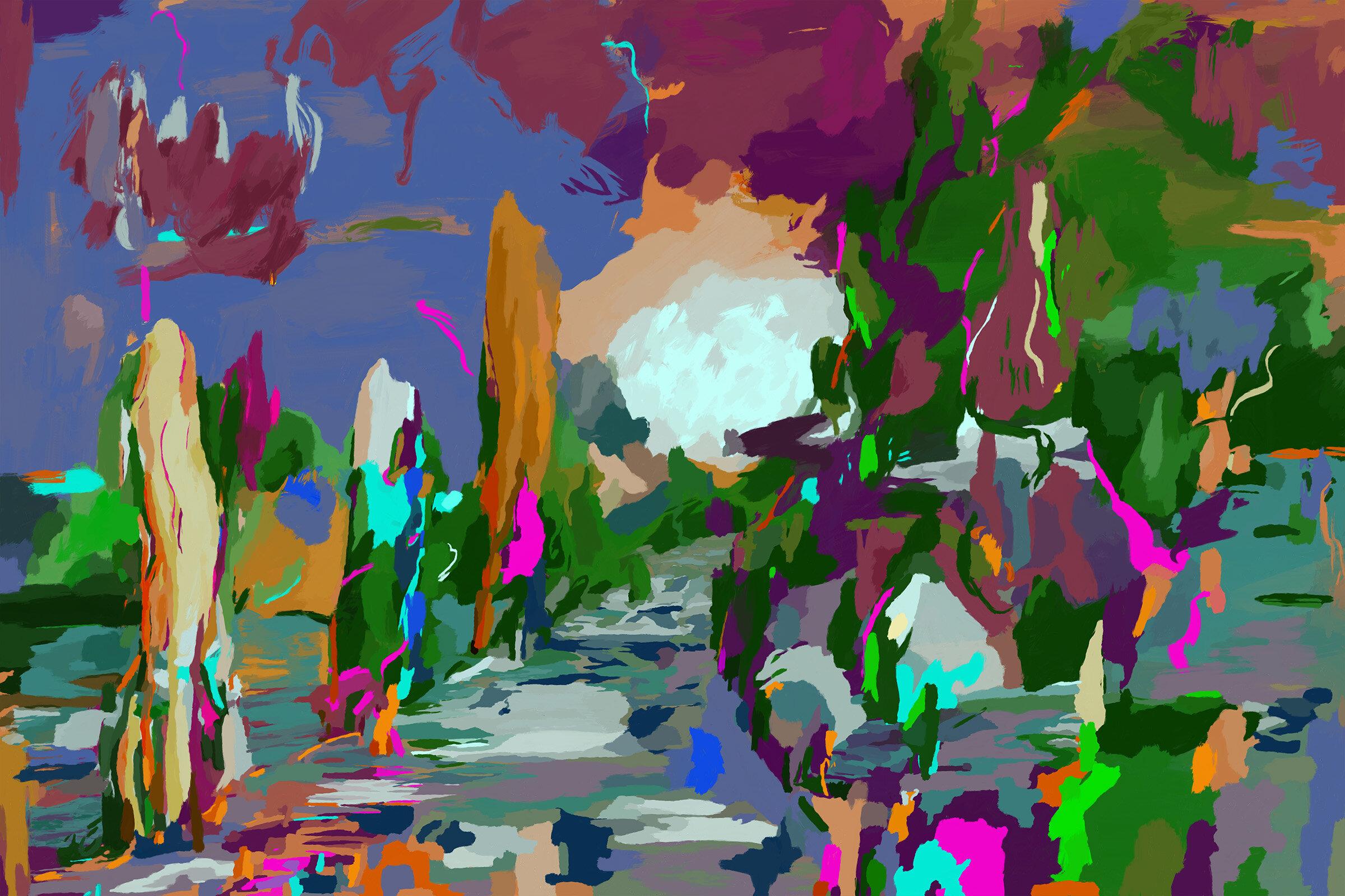 Obama Landscape, Patrick Earle