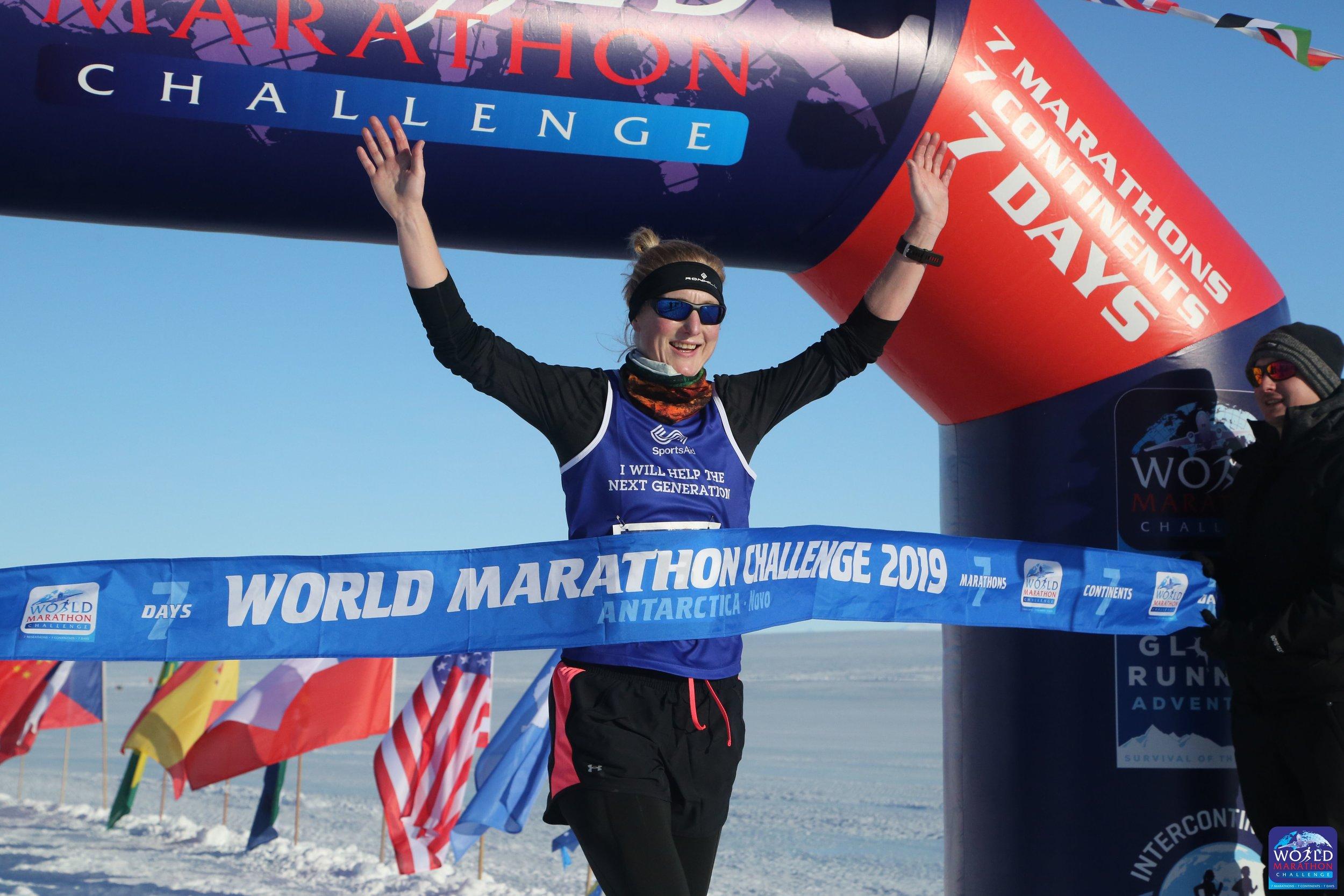Susannah Gill crossing the line in Antarctica 2 .jpg