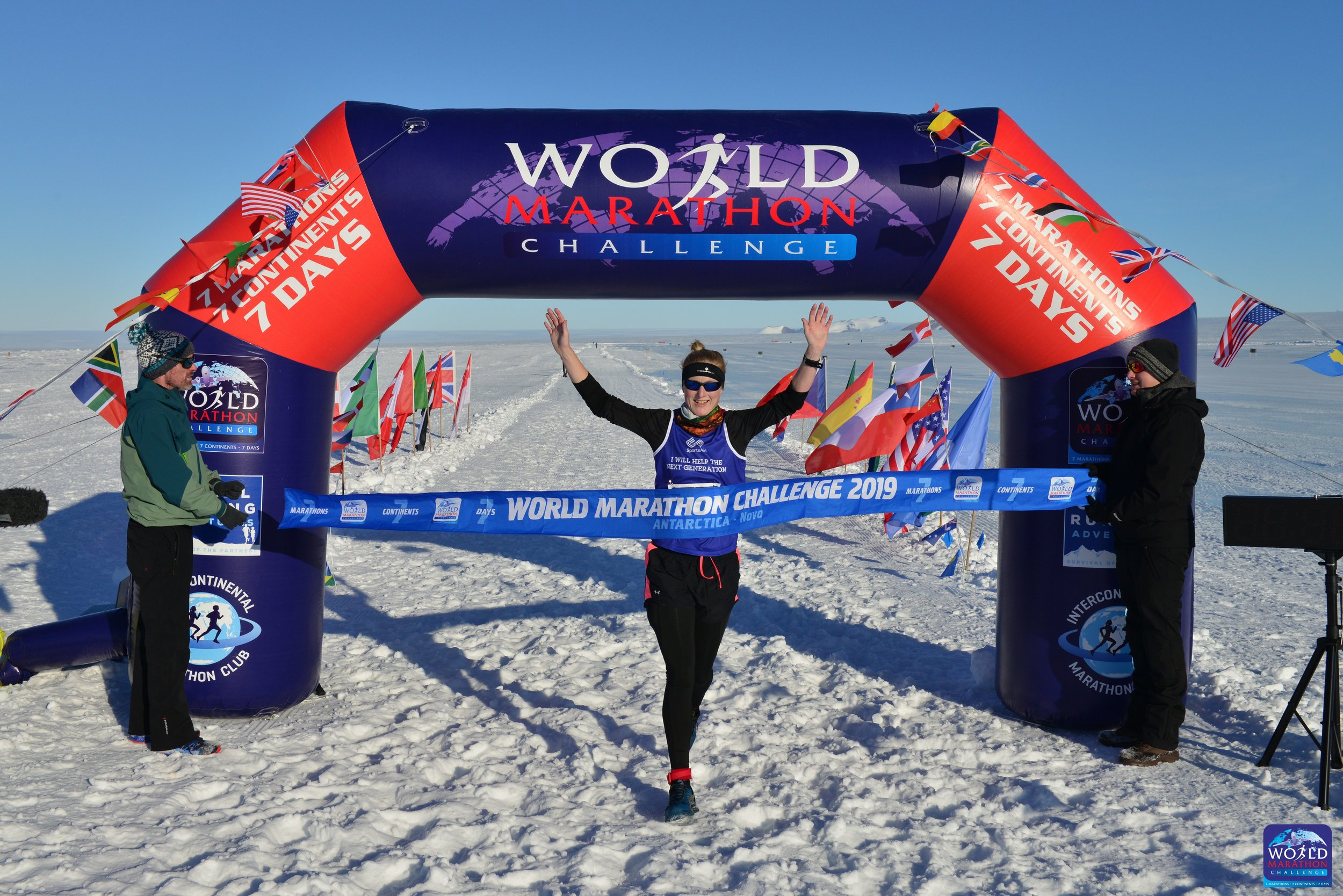 Susannah Gill crossing the line in Antarctica [1].jpg