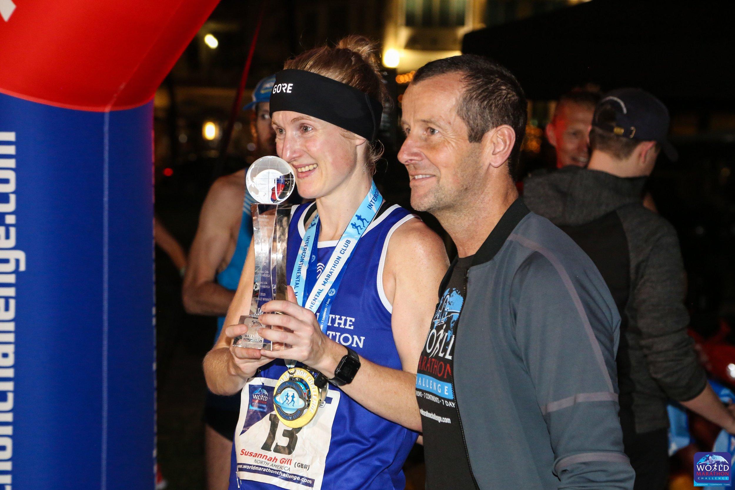 Susannah Gill and Richard Donovan at the finish in Miami 2.jpg