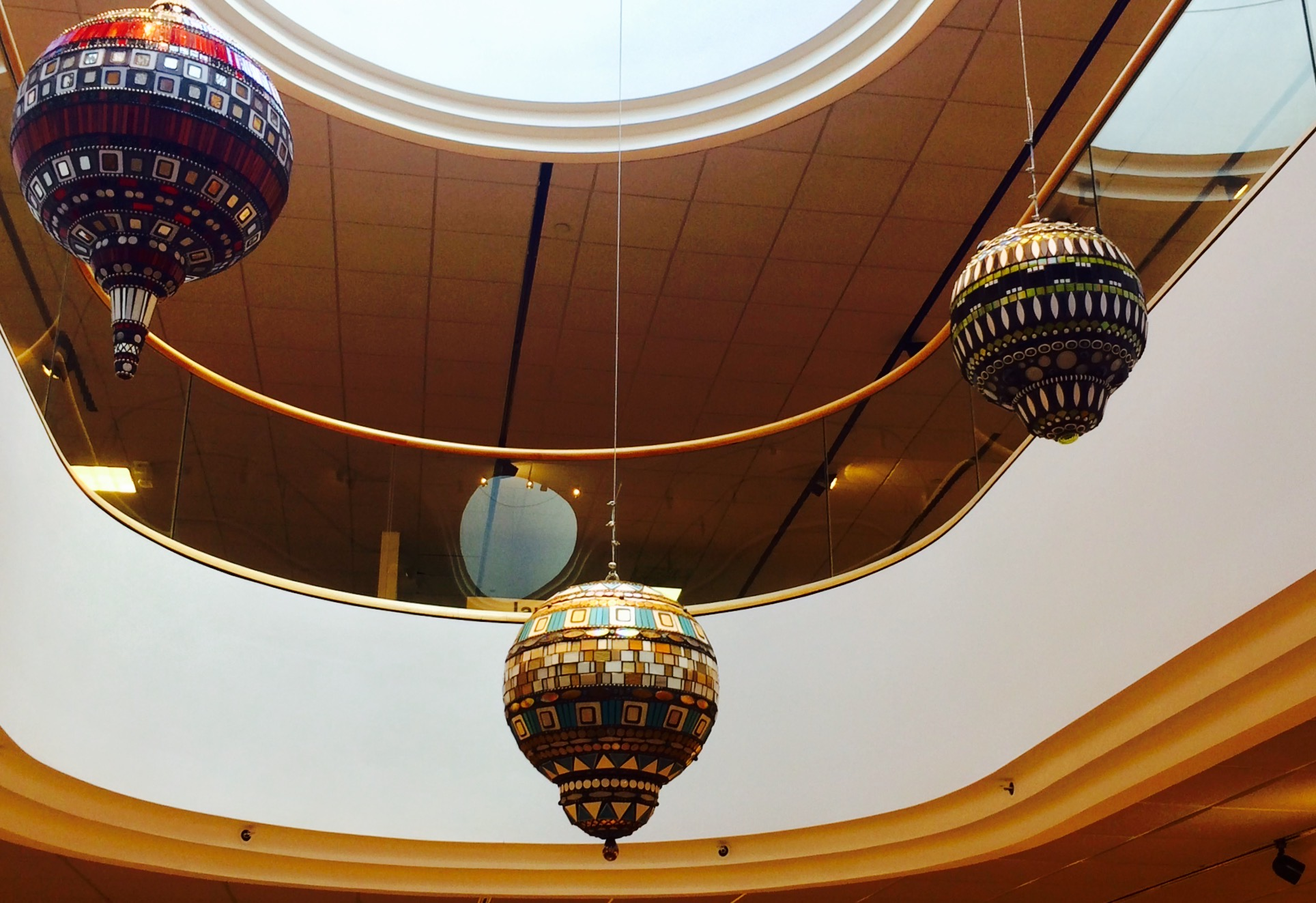 Large Hanging Orbs