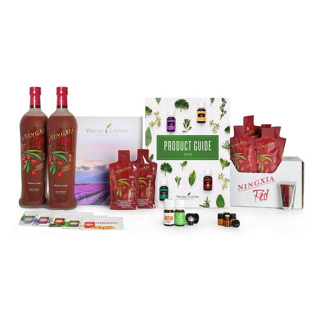 Premium Starter Kit Young Living Ningxia Red