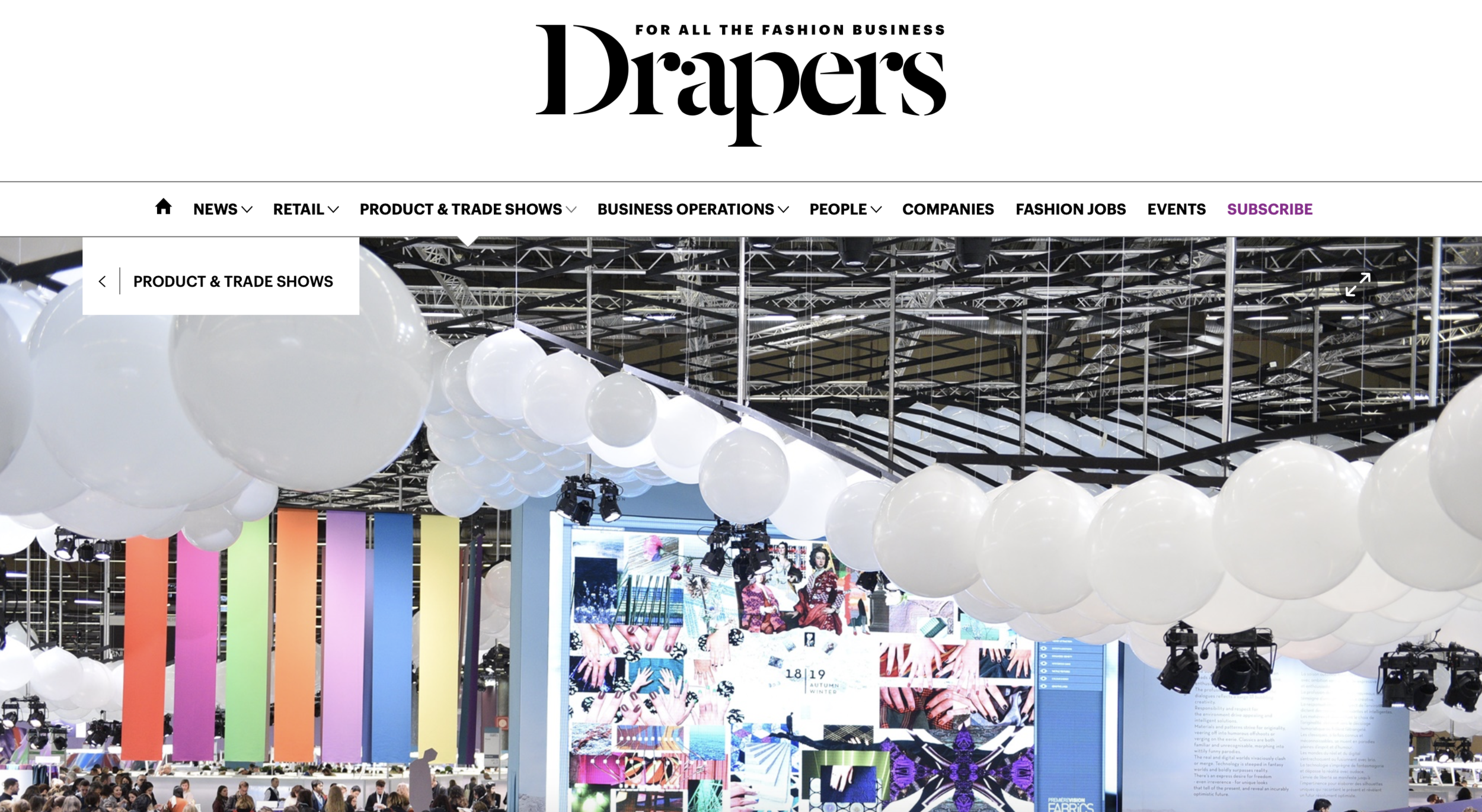 Studio Bodhi Featured in Drapers