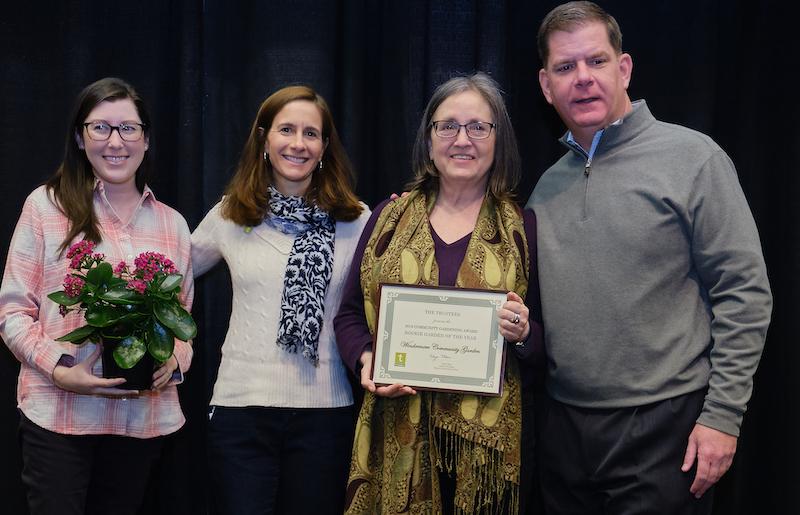 2019 Boston Community Garden Awards Rookie of the Year, Windermere Community Garden
