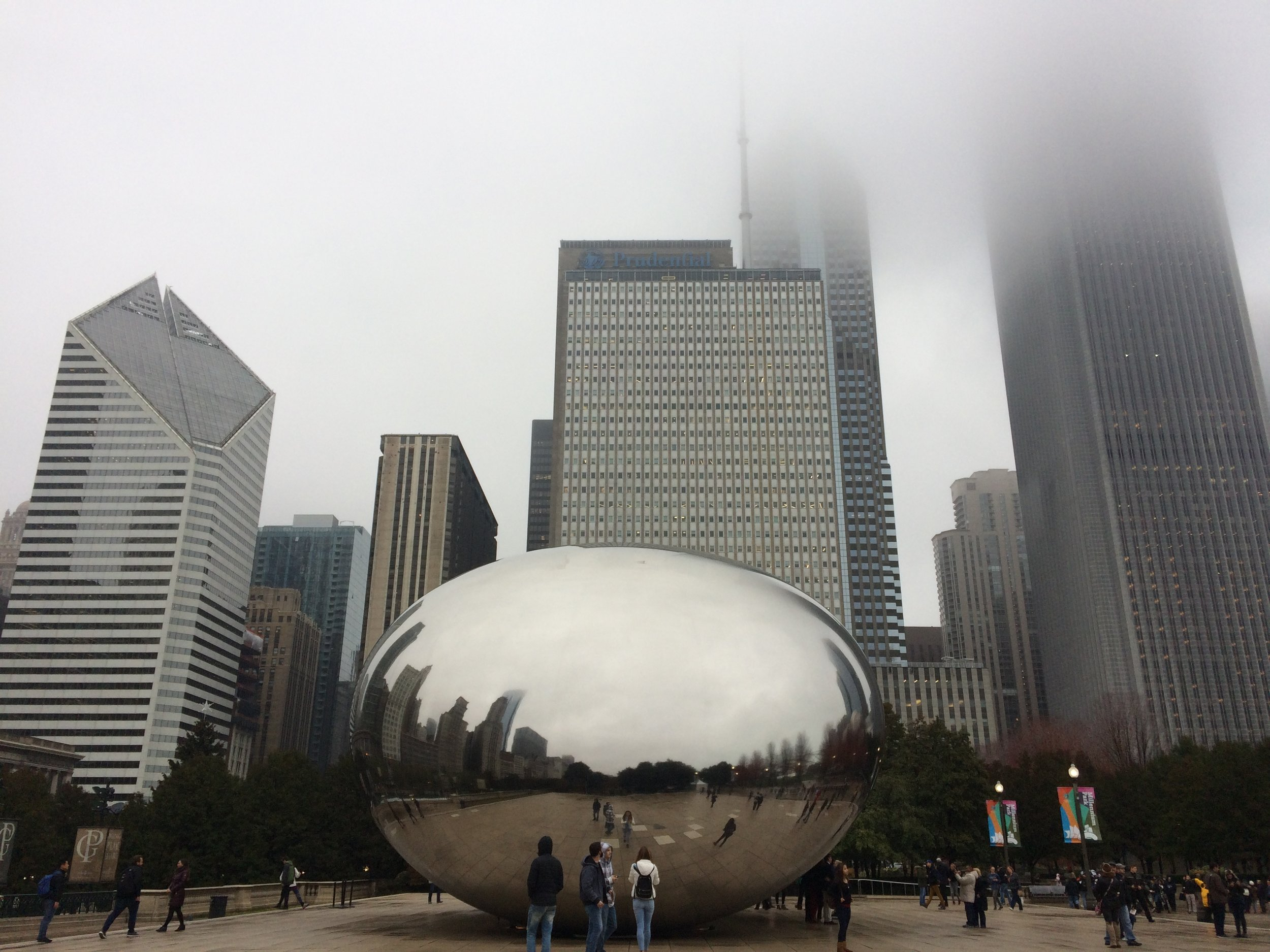 """Cloud Gate"" is the first piece of permanent, public art by artist Anish Kapoor to be installed in the U.S."