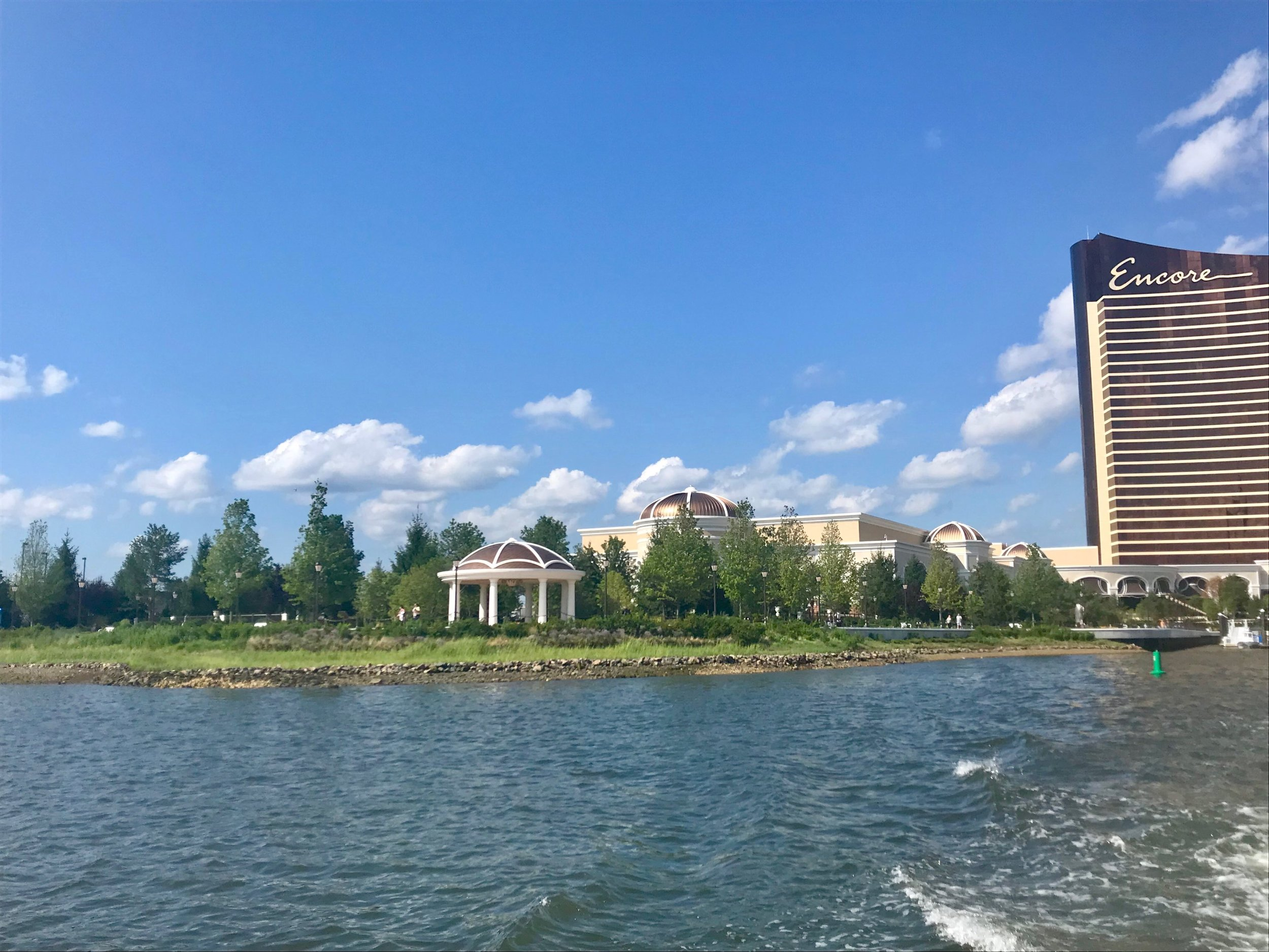 Encore Boston Harbor's living shoreline